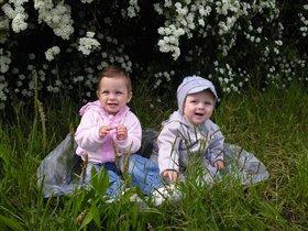 Малыши на природе