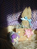 Подарки от Natashka (овечка) и Мотылька (зайка)