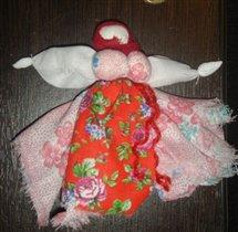 Кукла из лоскутков.