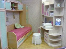 мебель как у нас- справа, а  цвет -слева(бук-мята)