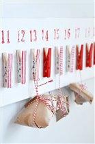 Новогодний календарь своими руками для детской