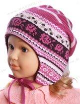 модная шапочка с напуском maxim0 р-р 53