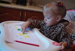 Лерочка пишет письмо Дедушке Морозу!