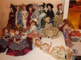 куклы моей доченьки Катюшки 7 лет