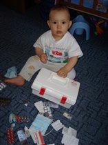 'Лекарство на букву А' Матвей 2,6 года.