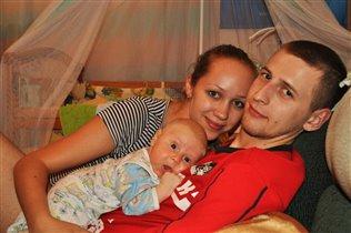 наша дружная семья!!!