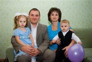 Мое любимое фото нашей семьи!