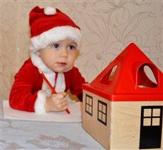 Маленький Санта пишет Дедушке Морозу
