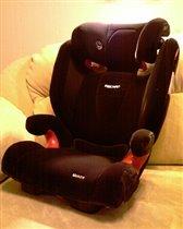 Recaro Monza Seatfix Microfibre Black 2012