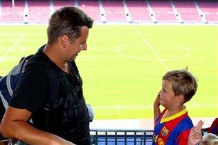 Клятва на крупнейшем стадионе Европы 'Camp Nou'