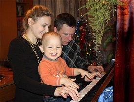 Музыкальная семья.