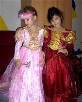 А у меня две принцессы!!!