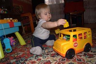 Мой автобус со стройматериалами