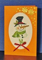 Вторая открытка для проекта 'Зимняя открытка-2011'