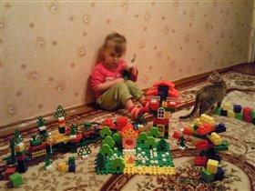 Конструктор-моя самая любимая игрушка!