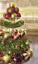 Композиции для украшения новогоднего стола