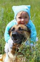 с любимой собакой