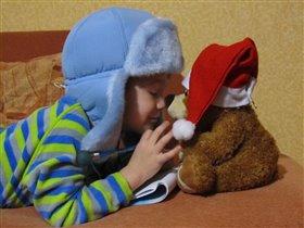 Мишка, а ты ЧТО у Деда Мороза попросил?