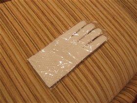 перчатки-сеточки в комплекте