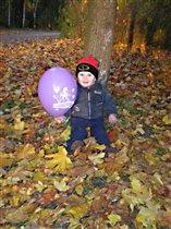 Осень, осень...где посадили, там и улыбаюсь :)
