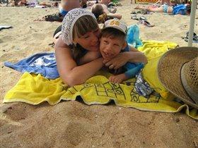 А на море теплый песок!!!