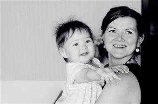 Мирослава и ее мама Мария