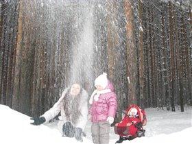 Снегопад своими руками для веселья и забав