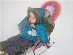 ой, холодная прогулка, мы замерзли ни на шутку