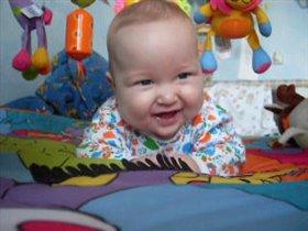 Моему сынуле 5 месяцев