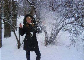 Снежная пыль =)