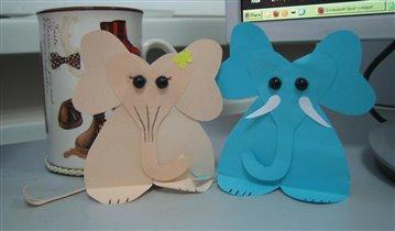Влюбленные Слоны...