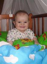 Мой любимый, улыбающийся малыш)))