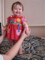 Иииииихаааа! Мама купила мне первое платье!