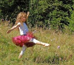Танец летней бабочки.
