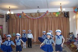 Танец Моряков на празднике ко Дня Защитника отеч.