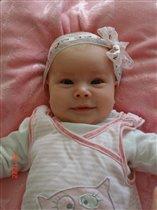 Сладкуша-вкусняша - Алисонька наша!:) 1,5 месяца