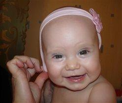 первая осознанная улыбка :)