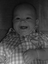 Мой солнечный сыночек!