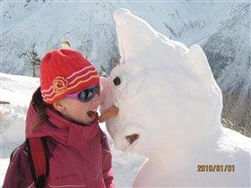 Снеговик Снеговик - Я тебя съем!