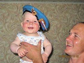 Я тоже буду десантником, как дед и дядя Саша!
