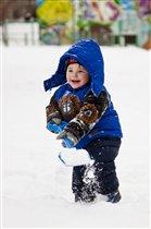Вот так снега навалило,но убрать найду я силу!!!