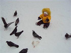 на прогулке с птичками!!!!!!!!!!!!