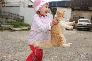 Мы очень любим животных