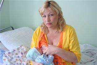 первое кормление малыша