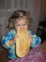 Ну оооочень проголодалась))))