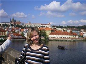Злата Прага!(вид на Пражский град с Карлова моста)