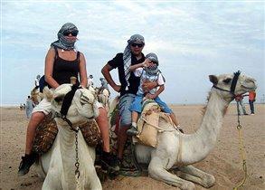 Первое семейное путешествие)))Египет 2010 г.