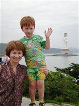 Хайнань_Статуя Богини Гуаньинь_осень 2010