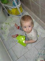 Лучшие игрушки - в ванной!
