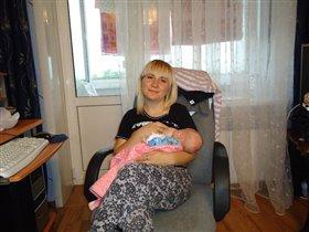 счастье быть мамой))))))